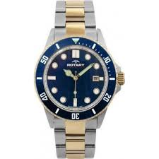 rotary agb00027 w 05 mens watch watches2u rotary agb00027 w 05 mens aquaspeed blue steel gold watch