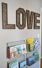 pallet letters upcycle that