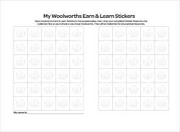 Sample Sticker Chart 7 Documents In Pdf