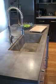 concrete cement kitchen countertops looking