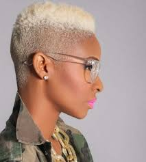 Short Natural Afro Hairstyles Blonde African American Short Hairstyles Hair Pinterest See