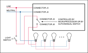 intelligent lighting controller measures ambient light and tracks system wiring to the mains supply voltage and to luminaire s