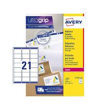 Print Address Labels Address Labels L7160 500 Avery