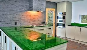 glass countertops bio evolution and tables from recycled sea cost houston texas vs granite