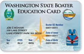 A Card How Replacement Get Washington Education Boater To