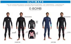 Rip Curl E Bomb Size Chart 3 2mm Rip Curl E Bomb Wetsuit