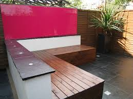 Small Picture Contemporary Outdoor Storage Bench Organized yard Pinterest