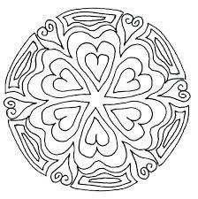Snowflake Mandala Coloring Pages Free Ala Coloring Free Pages Alas