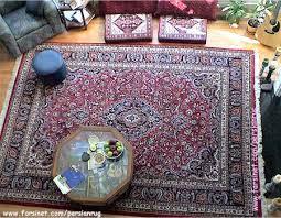 persian rug mashhad design