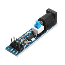 <b>3Pcs AMS1117 5V</b> Power Supply Module With DC Socket And ...
