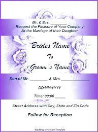 wedding invitation designs free virtual invitations best of templates hindu marriage template
