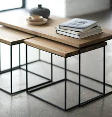 stacking coffee table nested coffee table best teak coffee table ideas on nested coffee table best