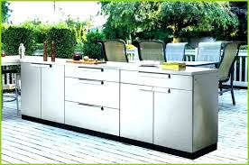 D Awesome Outdoor Stainless Steel Cabinets Kitchen Inspirational  Cabinet Doors