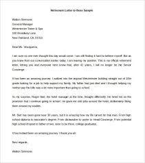 Retirement Letter Samples For Someone Retiring Teacher
