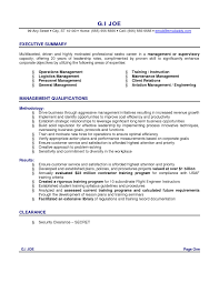Gallery Of Executive Summary Resume Samples Format 2017 How To Write