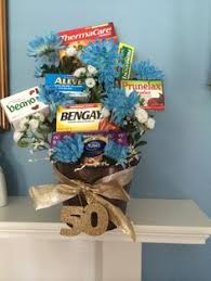 over the hill gift basket great for a 50th birthday over the hill
