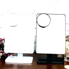 Portable Vanity Mirror With Lights Extraordinary Tabletop Makeup Mirror With Lights Portable Vanity Mirror Lights