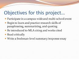 esl the immortal life of henrietta lacks scope of project  3 objectives