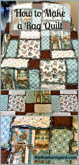 How to Make a Rag Quilt- A Simple DIY Sewing Project | The Flip ... & How to Make a Rag Quilt. Making a rag quilt is a simple project that Adamdwight.com
