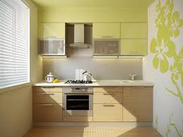 Wall Painting For Kitchen Kitchen Ravishing Green Wall Painted Kitchen Decor With Maple