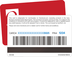 overstock gift card. Plain Overstock Enter The Gift Card Number Along With 4digit PIN With Overstock Gift Card C