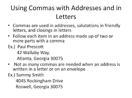 Ppt Using Commas With Parenthetical Expressions Powerpoint