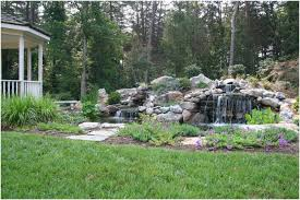 Small Picture Backyards Charming Pond Waterfall Design In Northern Virginia 31