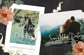 Save The Dates Wedding Save The Date Invitations