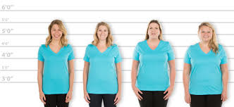 Custom Ink Size Chart Customink Com Sizing Line Up For Bella Womens V Neck T