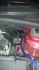 how to car audio system install 2012 cruze if it s dropped into the engine bay ask me how i know then take your drill bit and make a hole big enough in it to snugly fit your wiring through it