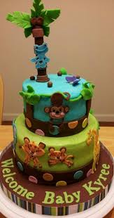 Jungle Themed Baby Shower Cake Sayings Archives  Baby Shower DIYBaby Shower Safari Cakes