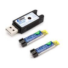 NEW E-flite EFLB1501S25 150mAh <b>1S 3.7V</b> 25C LiPo Battery <b>3pcs</b> ...