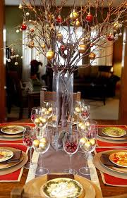 elegant table centerpiece accessories decoration contemporary party dining table decoration using round glass really