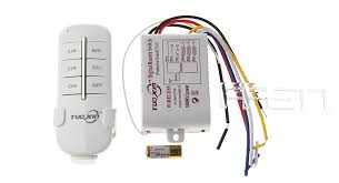 $6 14 3 Channel 220V Lamp Wireless Remote Control Switch