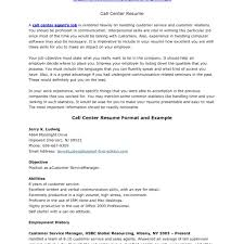 Call Center Resume Sample Inbound Call Center Resume Format Writing Resume Sample with 66