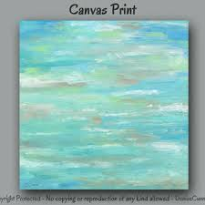teal green blue abstract canvas print large wall art teal ho on mint green canvas wall art with shop contemporary artwork on canvas on wanelo