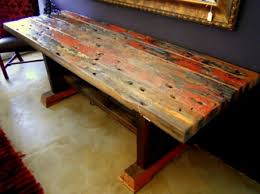 ship wood furniture. Reclaimed Ship Wood Furniture-- Another Obsession. Furniture