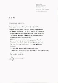 Ideas Of Hand Written Letter Project Ameliasdesalto Com