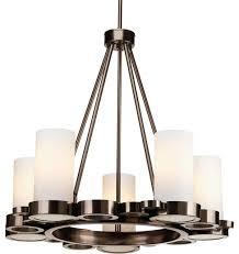 progress lighting p4647 74 bingo 5 light chandelier in