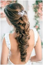prom hairstyles for long hair half up and half down
