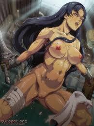 Nude sexy hentai warriors