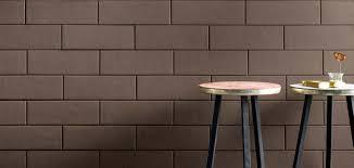 Brown Tiles Bathroom Brick Effect Porcelain Tiles Brit