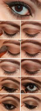 adventurous smokey brown tutorial makeupandbeauty adventurous smokey brown easy eye makeup for brown eyes for tutorial easy