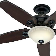 hunter 52 in basque black ceiling fan with light remote control