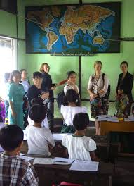 Further Discuss Donors Of The Stem Project Visit Kyaukphyu Education College And