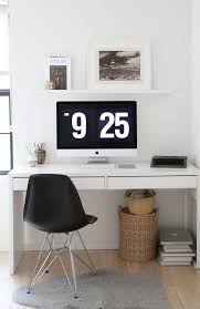 ikea office desk ideas. Fabulous Ikea Office Ideas For Your Home Decor: White Drawer Computer Desk And Black N