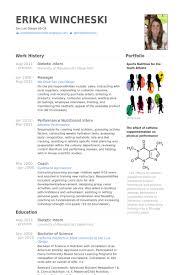 Stunning Dietetic Intern Resume Contemporary - Simple resume .