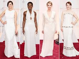 Image result for white gowns at the oscars