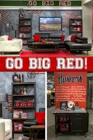 Nebraska Furniture Mart Living Room Sets 59 Best Images About Cornhusker Cave Fan Room On Pinterest