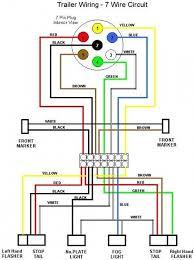 ford 7 pin trailer wiring diagram 7 pin trailer wiring diagram with brakes at 7 Pin Wiring Harness Schematic